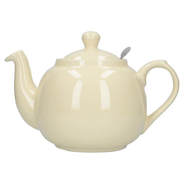 London Pottery Farmhouse Filter 6 Cup Teapot Ivory