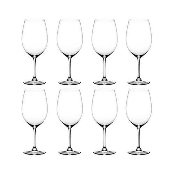Riedel Vinum Cabernet / Merlot Wine Glass Eight Piece Set
