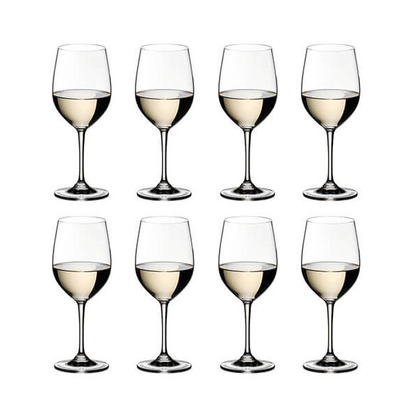 Riedel Vinum Viognier / Chardonnay Wine Glass Eight Piece Set