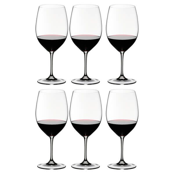 Riedel Vinum Cabernet Wine Glasses Set Of 6
