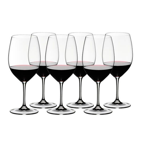 Riedel Vinum 265 Year Anniversary Cabernet Sauvignon Wine Glass Set Of 6