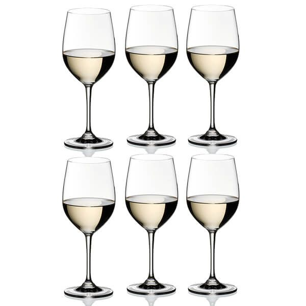 Riedel Vinum Viognier / Chardonnay Wine Glasses Set Of 6