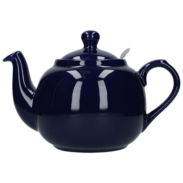 London Pottery Farmhouse Filter 6 Cup Teapot Cobalt Blue
