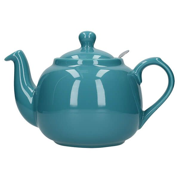 London Pottery Farmhouse Filter 6 Cup Teapot Aqua