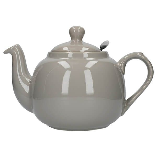 London Pottery Farmhouse Filter 6 Cup Teapot Grey