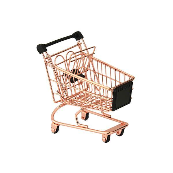 Apollo Copper Mini Shopping Trolley