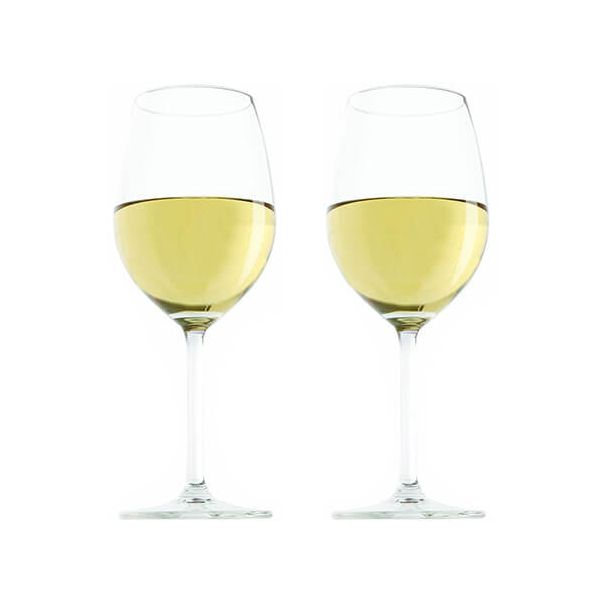 Vacu Vin Wine Glass White Set Of 2
