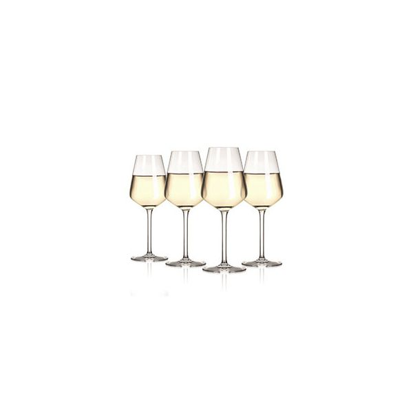 The Wine Show Wine Glass White Set Of 4