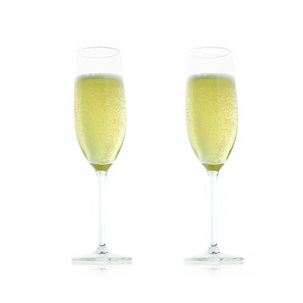 Vacu Vin Champagne Glass Set Of 2