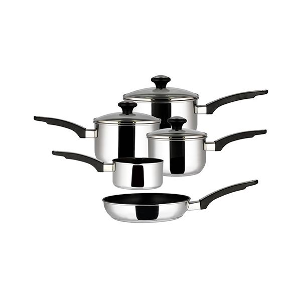Prestige Everyday 5 Piece Saucepan Set