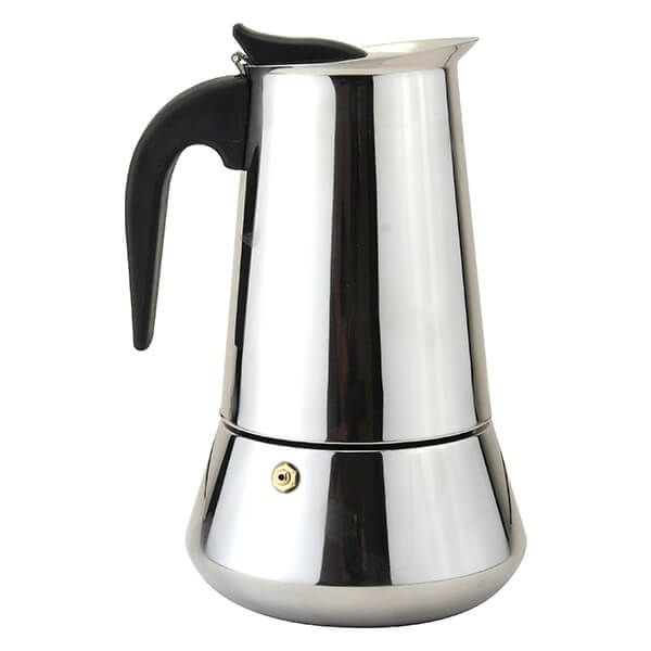Apollo Stainless Steel Induction 10 Cup coffee Maker