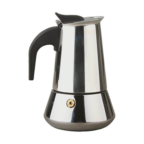 Apollo Stainless Steel Induction 2 Cup Coffee Maker