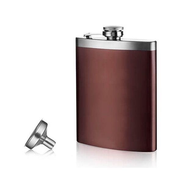 Vacu Vin Hip Flask & Funnel