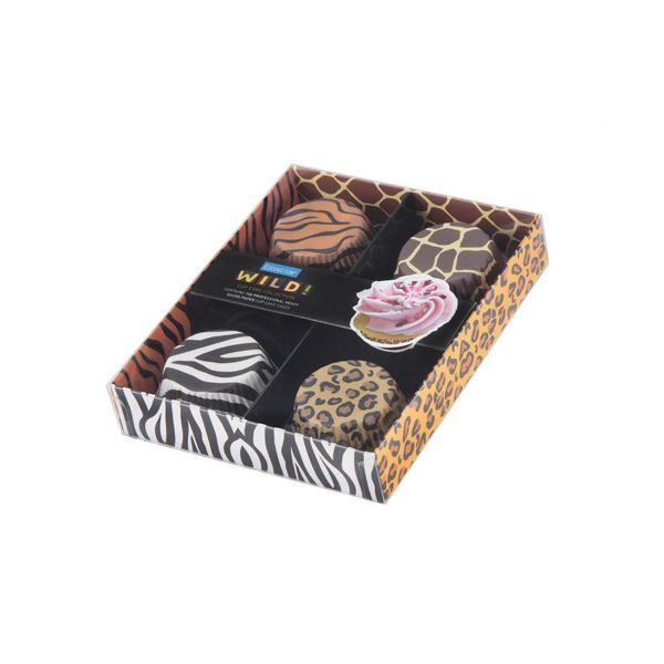 Eddingtons Paper Cupcake Cases Wild Design Pack Of 100