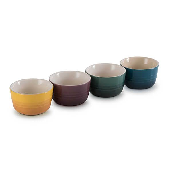 Le Creuset Botanique Stoneware Set Of 4 Mini Ramekins