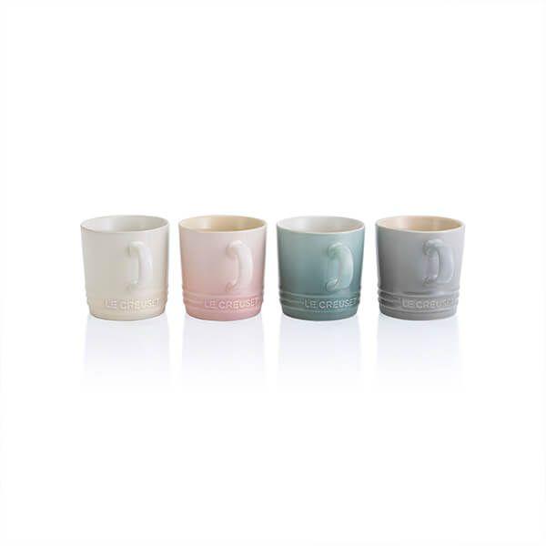 Le Creuset Calm Collection Set of 4 Cappuccino Mugs