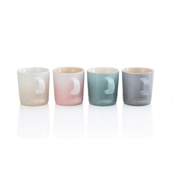 Le Creuset Calm Collection Set of 4 Mugs