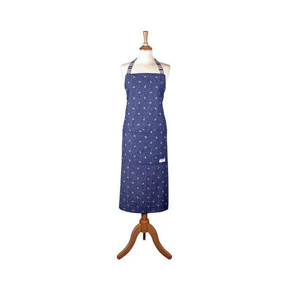 Seasalt Scattered Anchor Very Clever Cotton Apron