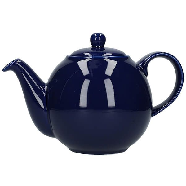 London Pottery Globe 8 Cup Teapot Cobalt Blue