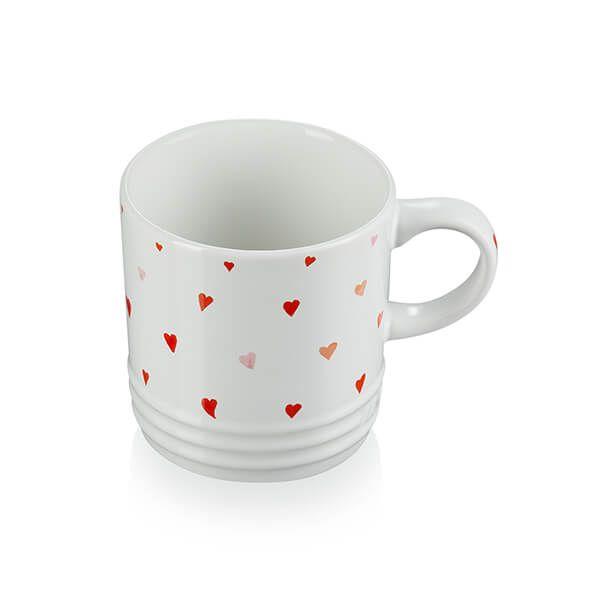 Le Creuset Heart Decal Stoneware Mug