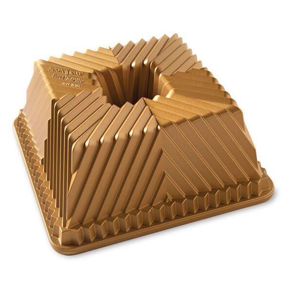 Nordic Ware Bundt Squared Pan Gold