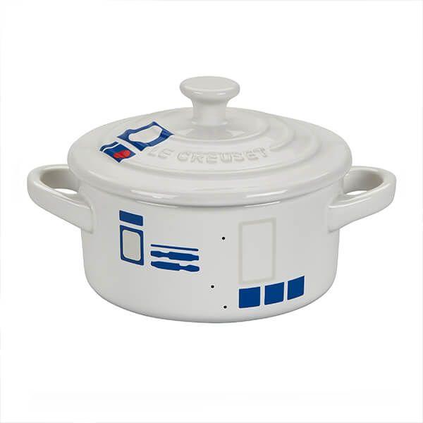 Le Creuset R2-D2 Petite Round Casserole White