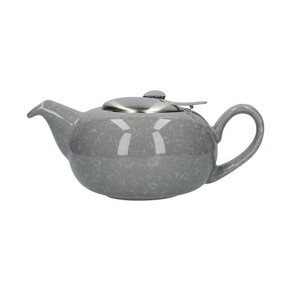 London Pottery Pebble Filter 2 Cup Teapot Gloss Grey
