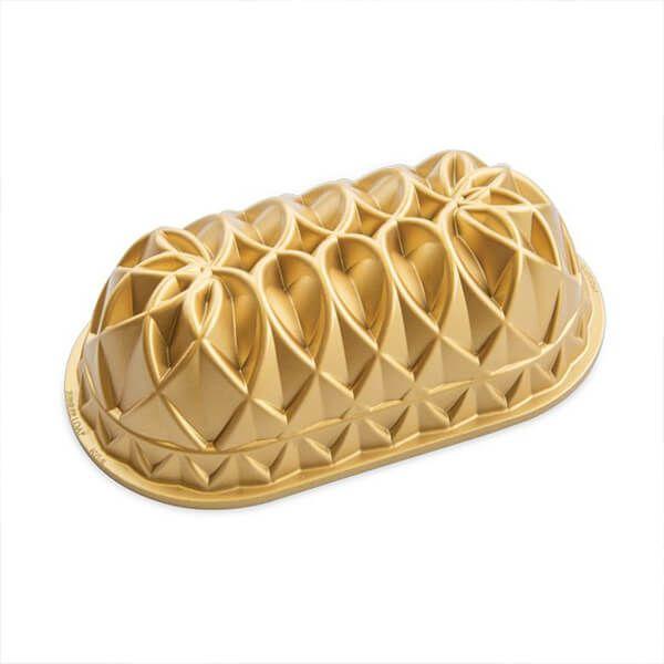 Nordic Ware Jubilee Loaf Pan Gold