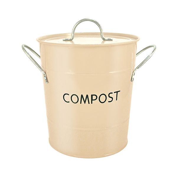 Eddingtons Compost Pail / Bin Buttercream
