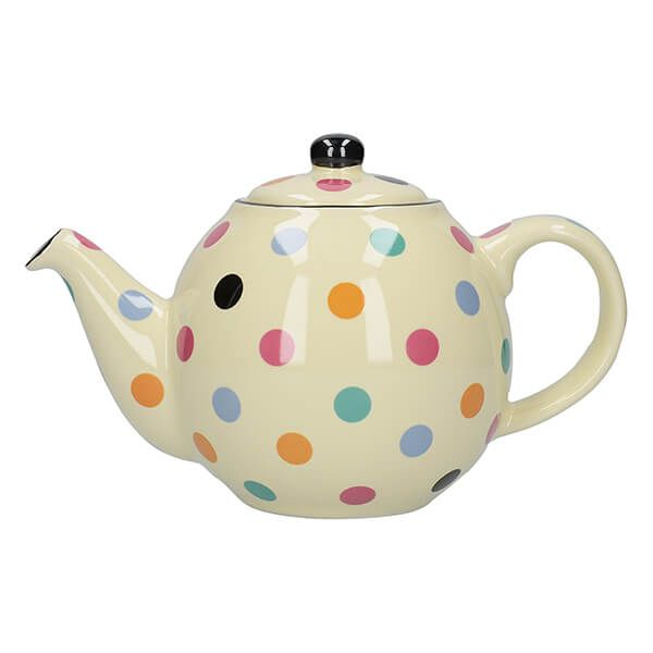 London Pottery Globe 4 Cup Teapot Multi Spot