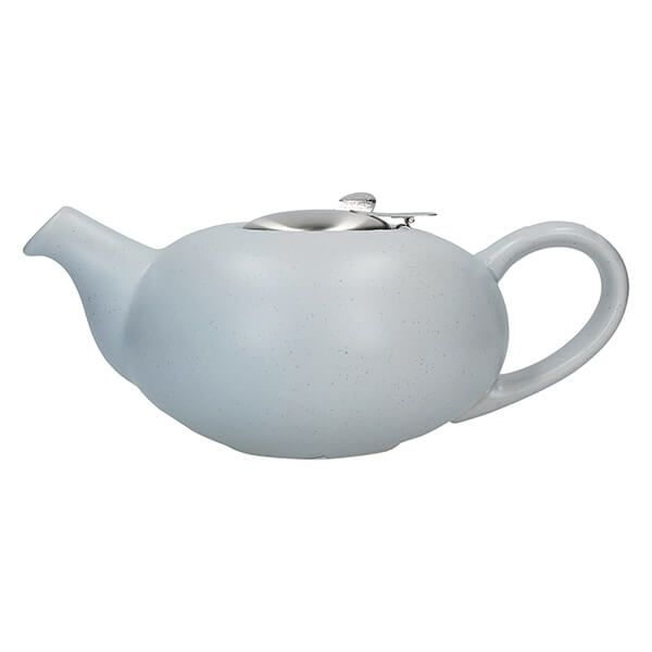 London Pottery Pebble Filter 4 Cup Teapot Light Blue