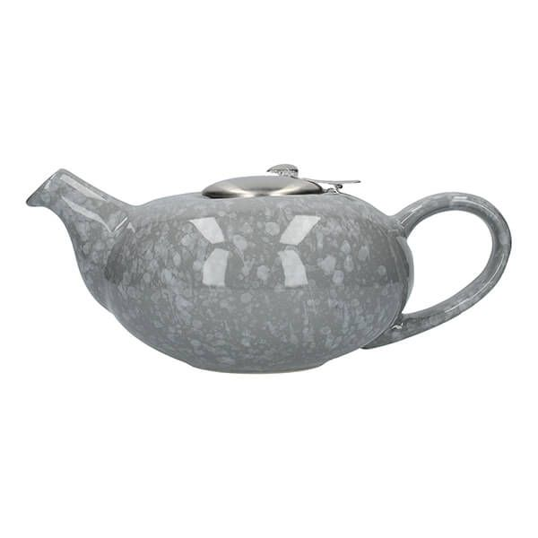 London Pottery Pebble Filter 4 Cup Teapot Gloss Grey