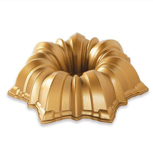 Nordic Ware Solera Bundt Pan Gold