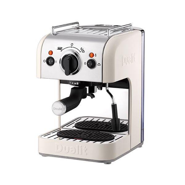 Dualit 3 IN 1 Coffee Machine Canvas White