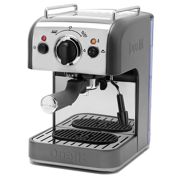 Dualit 3 In 1 Coffee Machine Grey