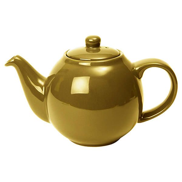 London Pottery Globe 4 Cup Teapot Gold Finish