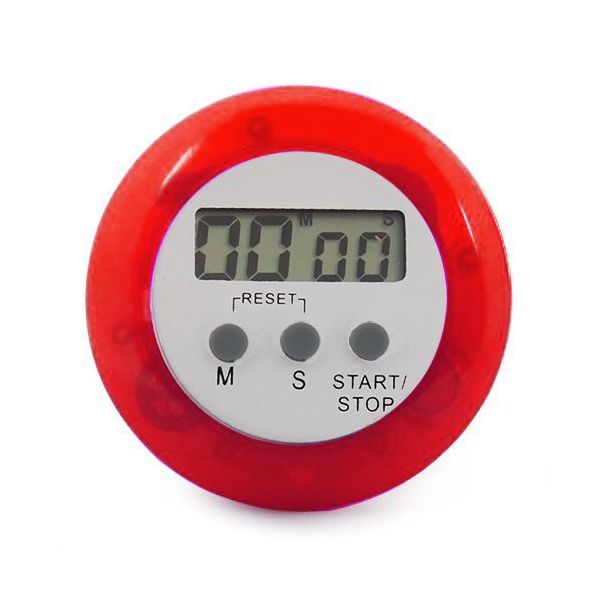 Eddingtons Digital Kitchen Timer Red