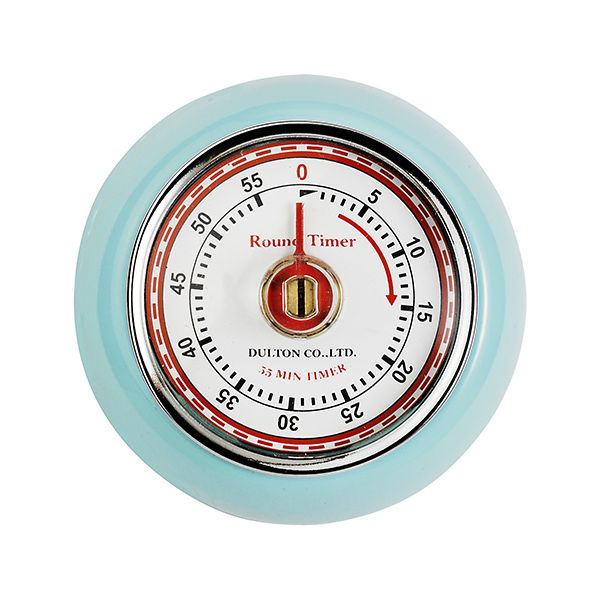 Eddingtons Retro Magnetic Timer Blue