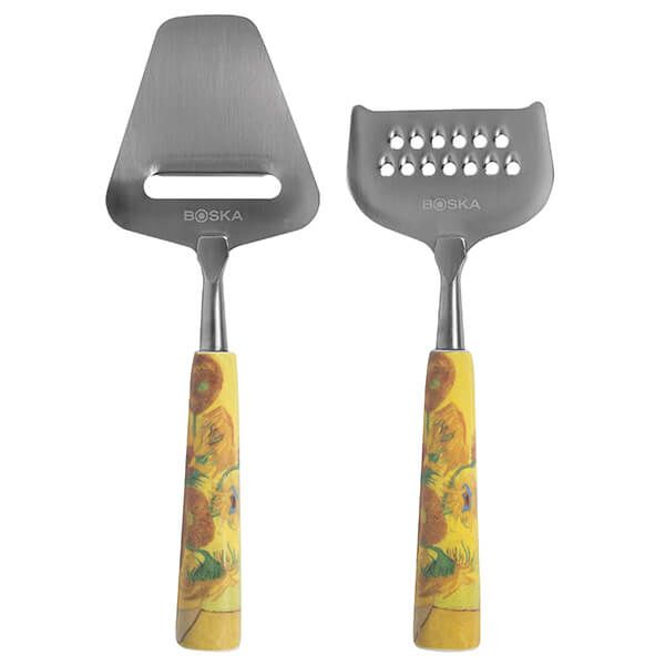 Boska Van Gogh Sunflowers Cheese Set Mini