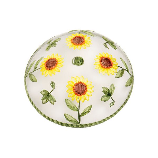 Epicurean Sunflower Pattern Food Cover