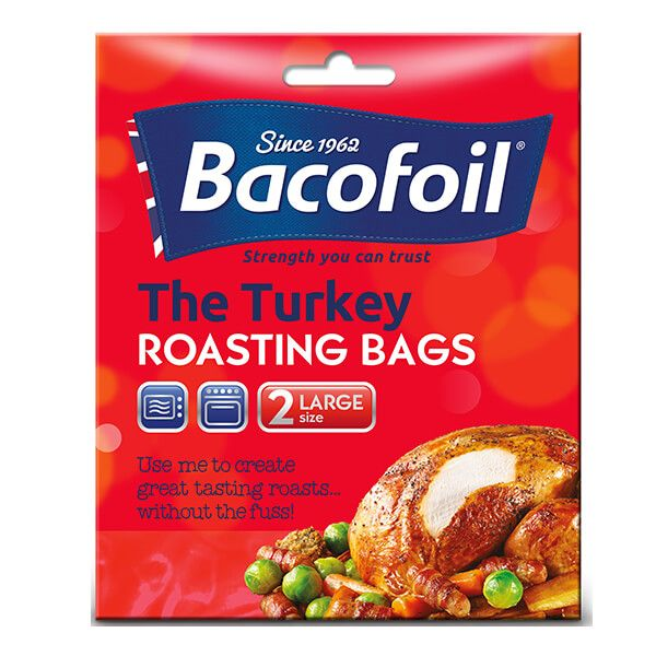 Bacofoil Set of 2 Large Turkey Roasting Bags
