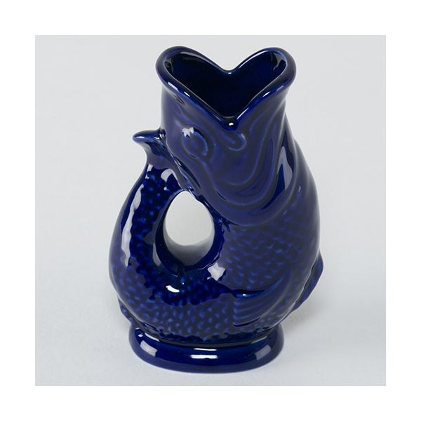 Wade Ceramics Blue Mini Gluggle Jug