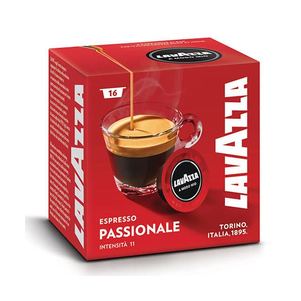 Lavazza Passionale Coffee Capsule Set Of 16