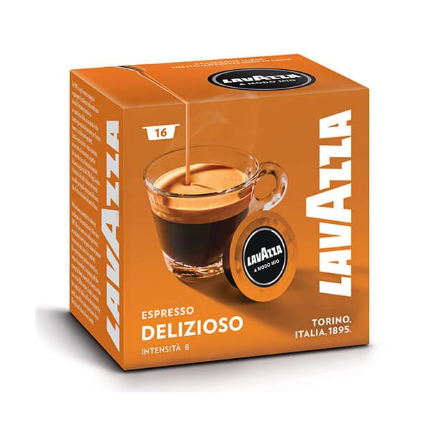 Lavazza Delizioso Coffee Capsule Set Of 16