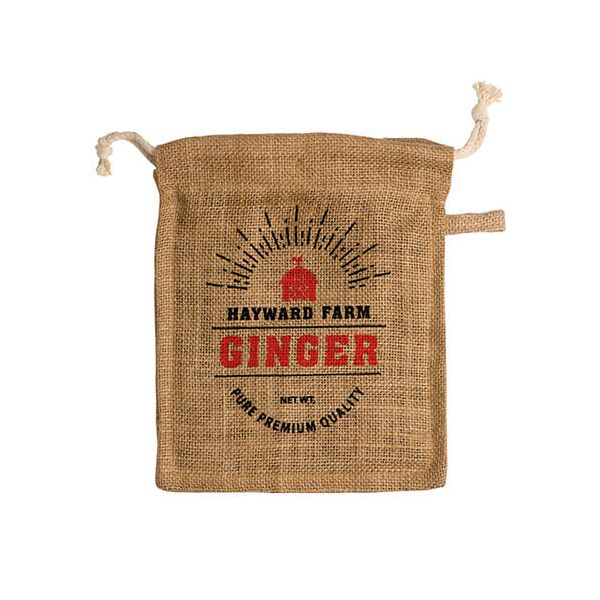 Eddingtons Jute Hayward Farm Ginger Bag