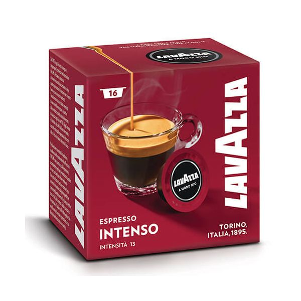 Lavazza Intenso Coffee Capsule Set Of 16