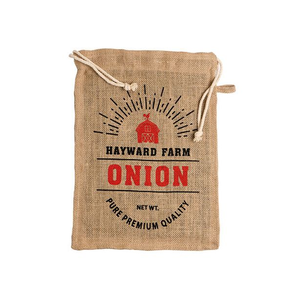 Eddingtons Jute Hayward Farm Onion Bag