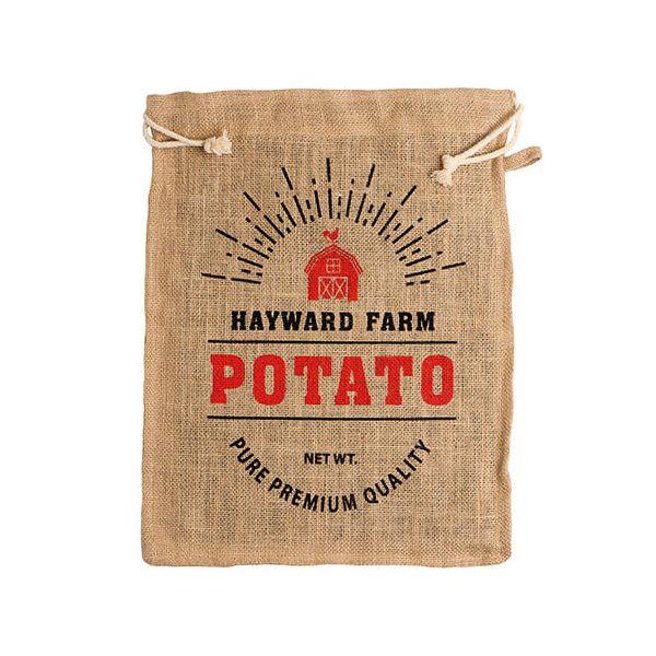 Eddingtons Jute Hayward Farm Potato Bag