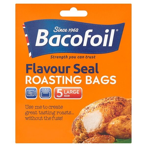 Bacofoil Set of 5 Large Flavour Seal Roasting Bags