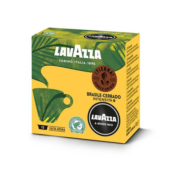 Lavazza Tierra Brasile-Cerrado Coffee Capsule Set Of 12